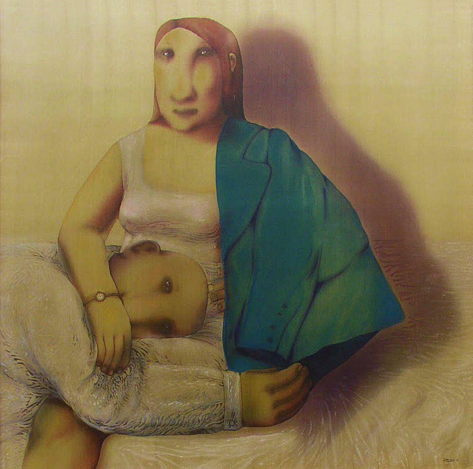 Анна Атоян. Повернення, 2010, шовк