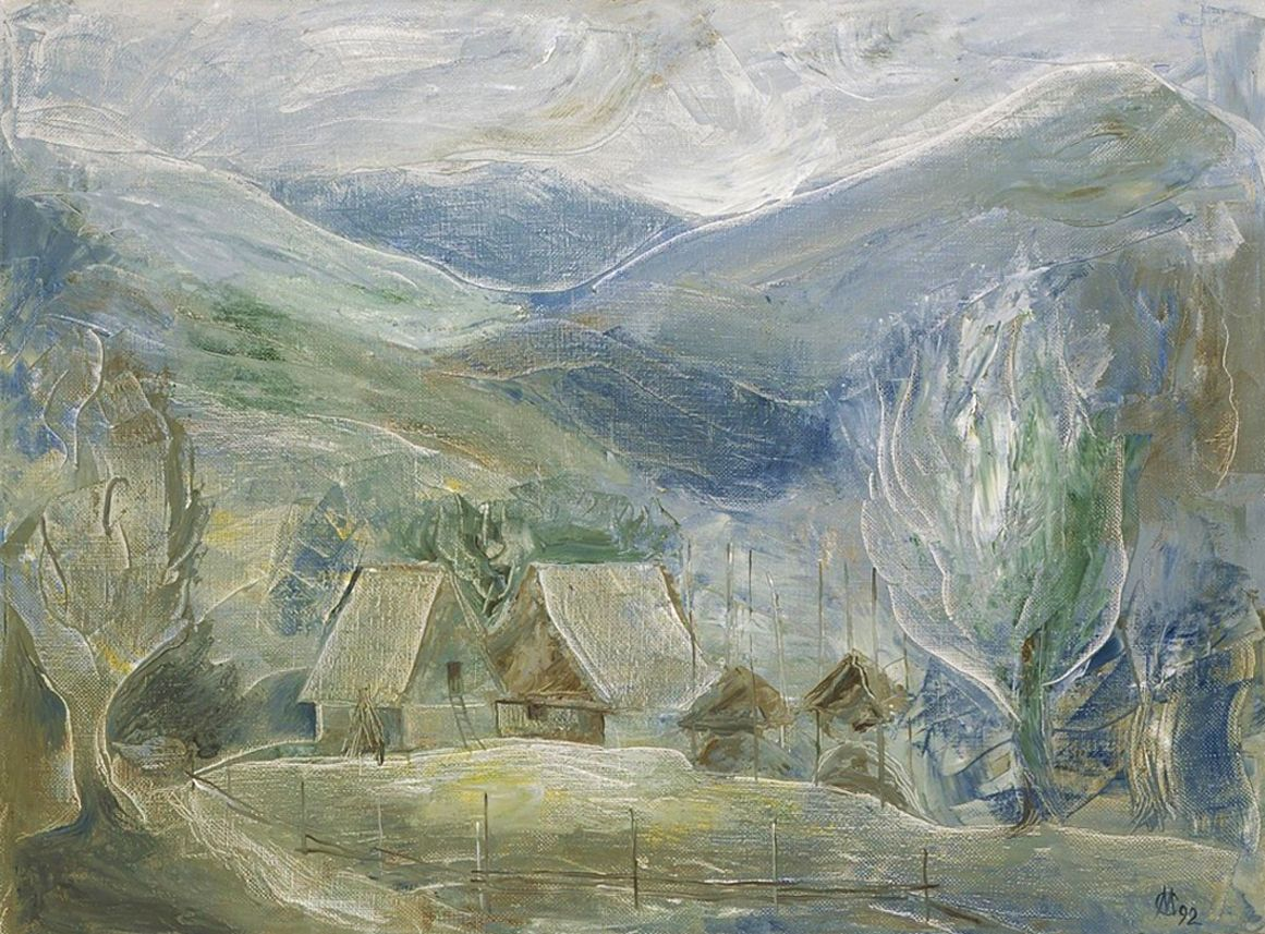Євген Манишин. Карпатський мотив, 1992