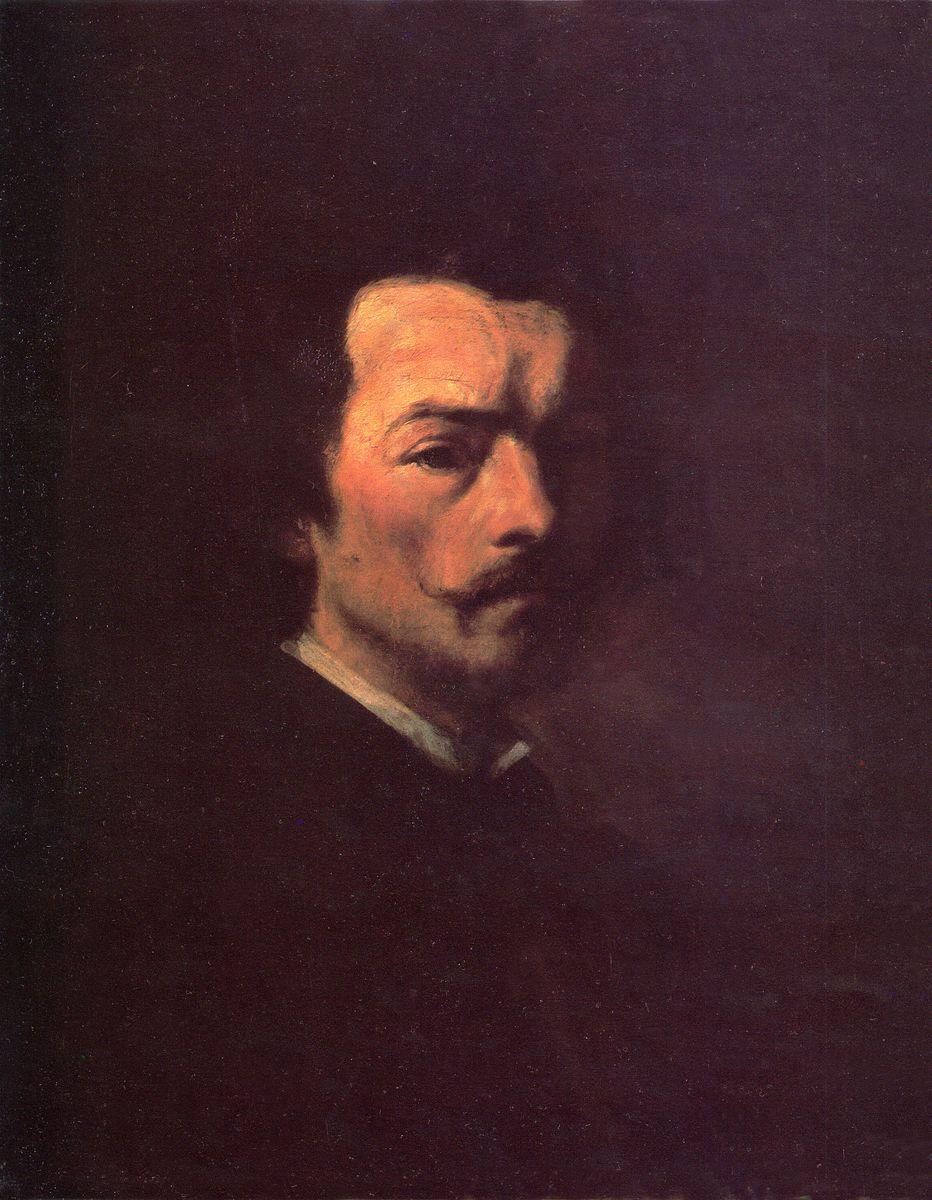 Анджей Грабовський. Автопортрет, 1862