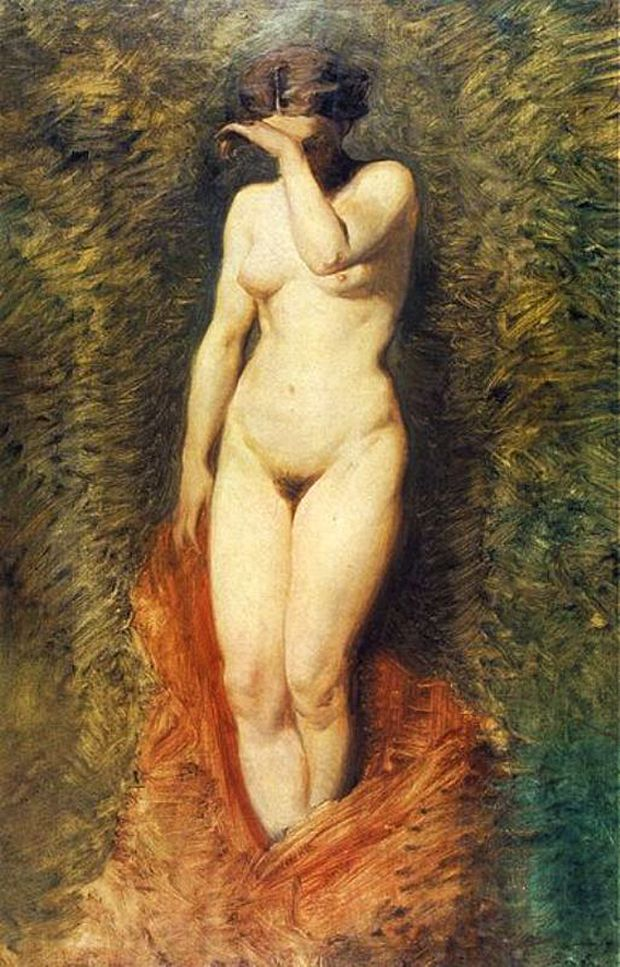 Артур Ґроттґер. Фріна, 1867. Полотно, олія, NMK