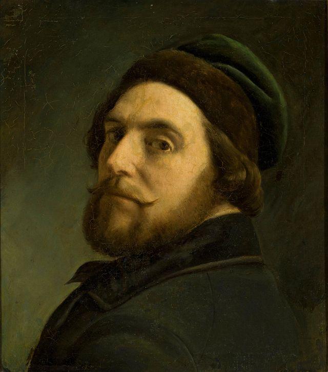 Артур Ґроттґер. Портрет чоловіка, 1860-і. Полотно, олія, NMW