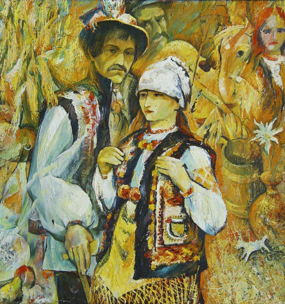 Микола Грималюк. Шовкова косиця, 1987