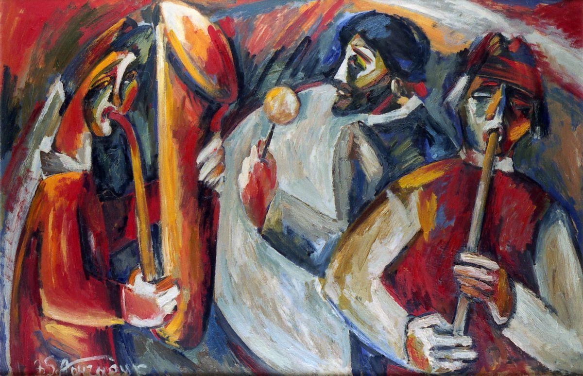 Алла Гончарук. Троїсті музики, 1985