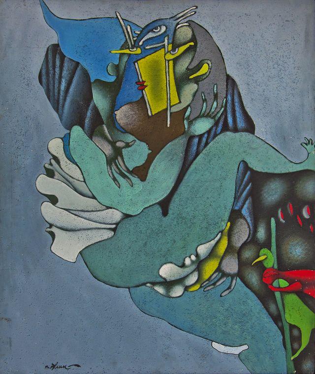 Петро Гулин. Поцілунок, 1988