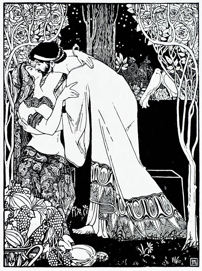 Ефраїм Моше Лілієн. Безмовна пісня. Юда, 1900