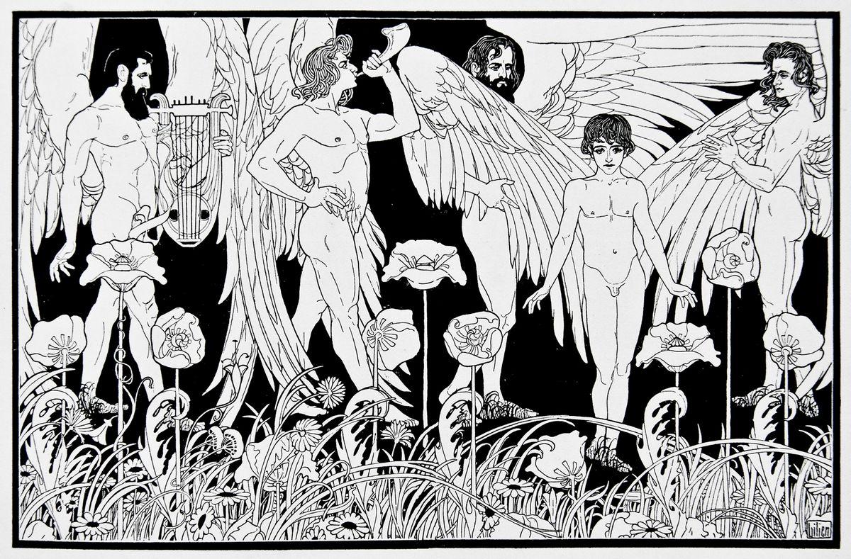 Ефраїм Моше Лілієн. Створення людини. Пісні Ґетто, 1903