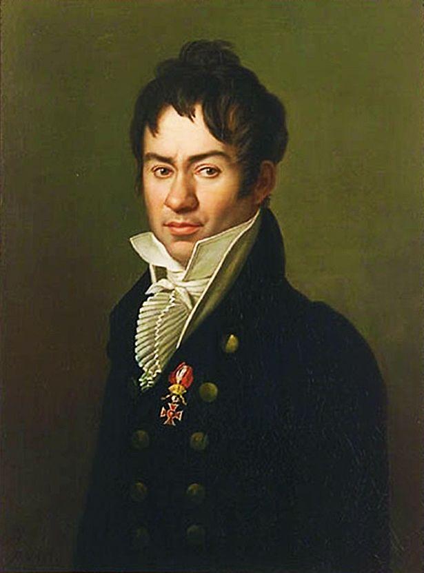 Карл Готлиб Швайкарт. Чоловік з орденом Леопольда, 1813
