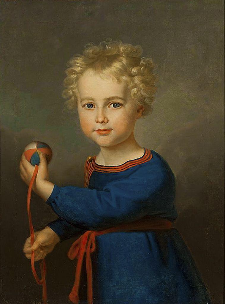 Карл Готлиб Швайкарт. Портрет дитини, 1824. NMW