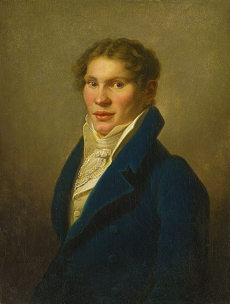 Карл Готлиб Швайкарт. Портрет юнака, 1815. НГ Словаччини