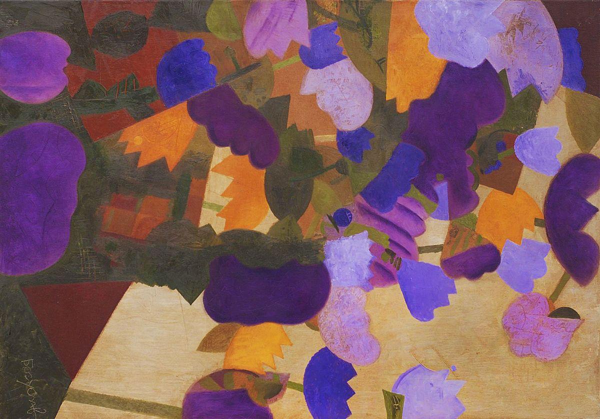 Володимир Богуславський. Квіти, 2007, 100-70