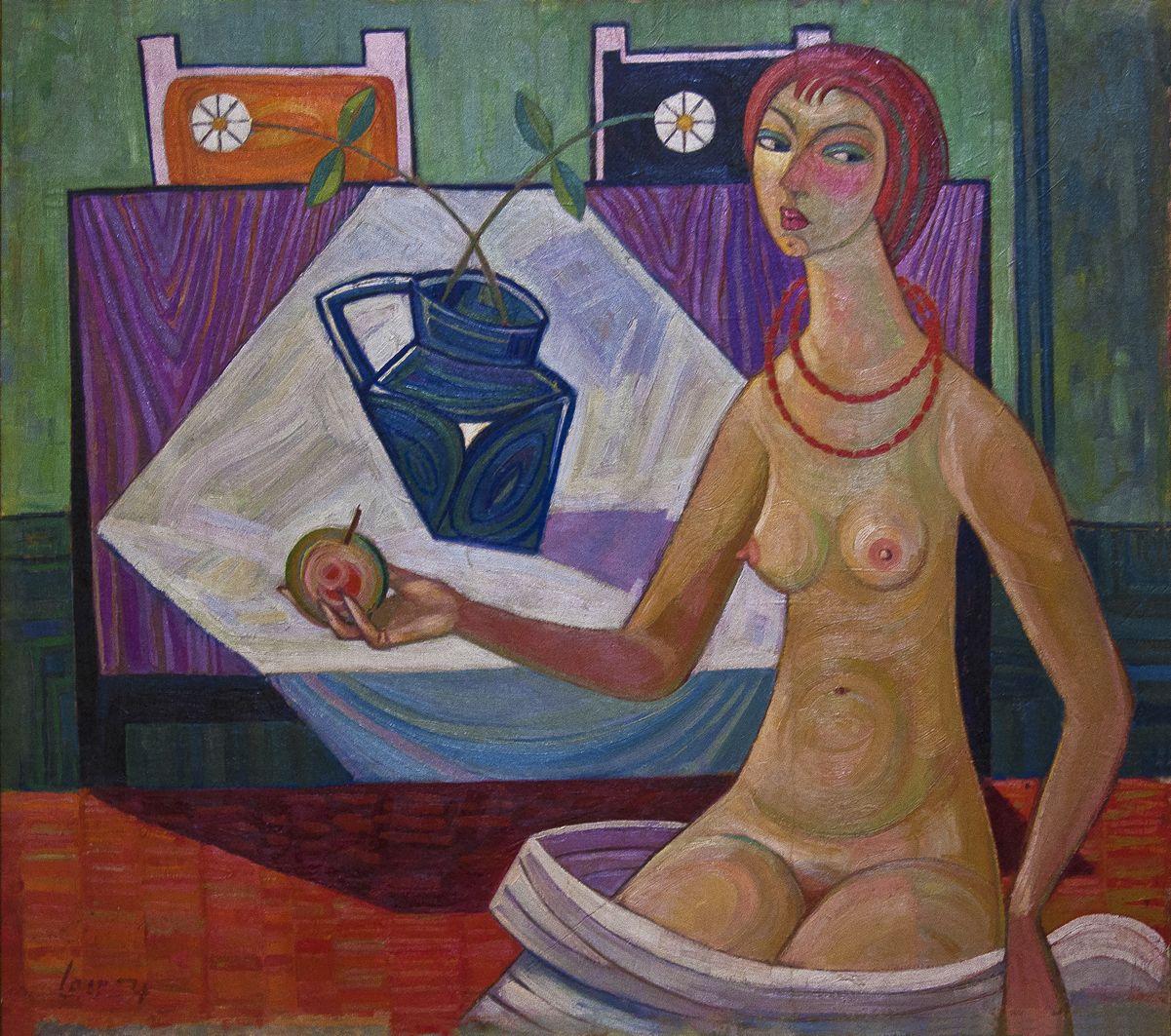 Мирон Левицький. Єва, 1954