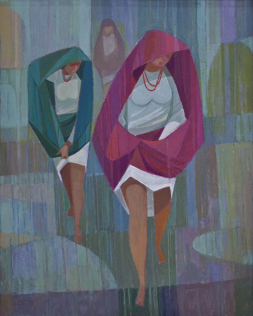 Мирон Левицький. Несподіванний дощ, 1988