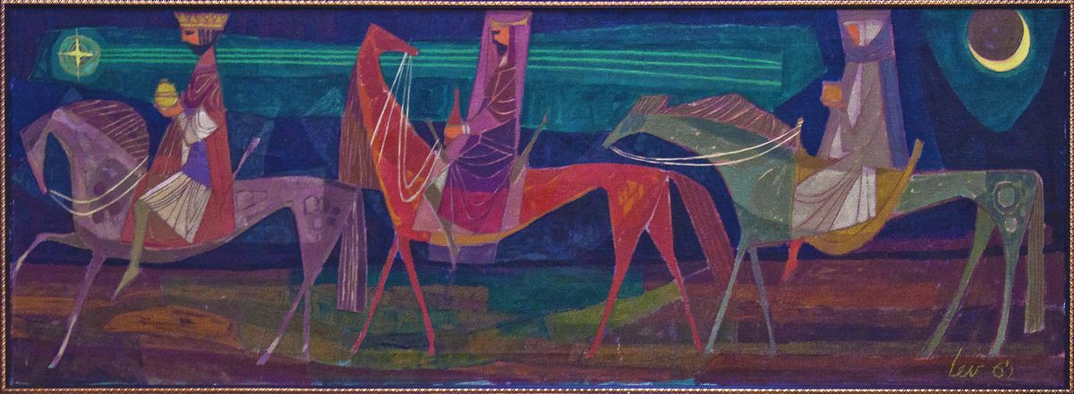 Мирон Левицький. Три царі, 1962