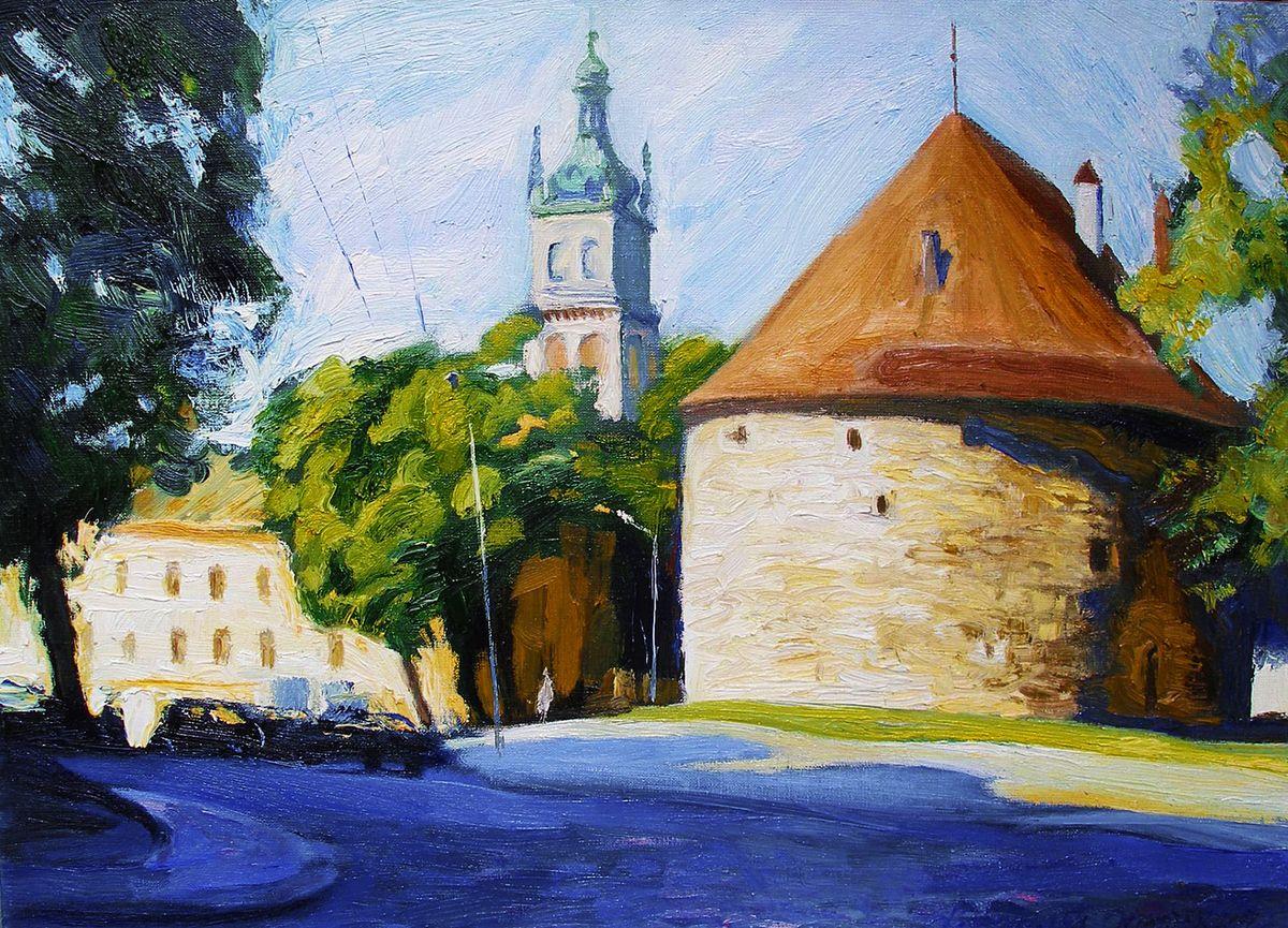 Олена Каменецька-Остапчук. Порохова вежа