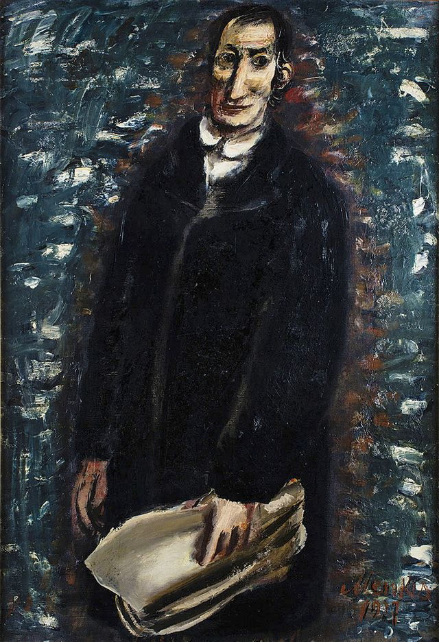 Зигмунт Менкес. Левіт, 1927
