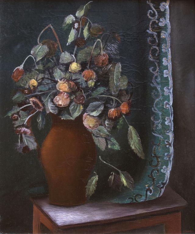 Зигмунт Менкес. Натюрморт з квітами, 1920-ті
