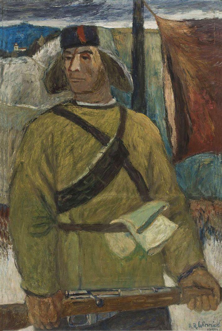 Олександр Винницький. Партизан, 1950, х,м ; NMW