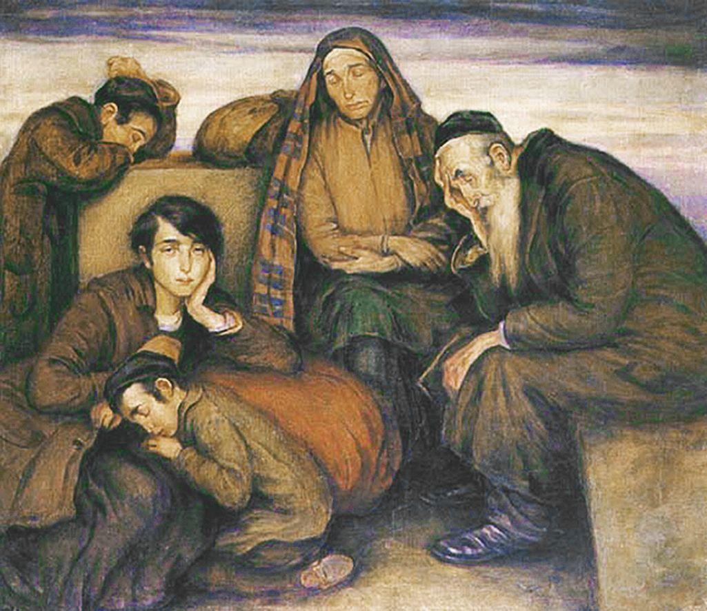 Вільгельм Вахтель. Безхатченки, 1930-ті