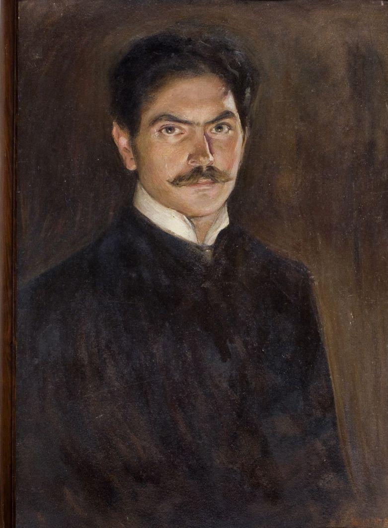 Вільгельм Вахтель. Автопортрет, 1907, ЛНГМ