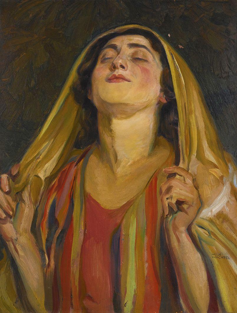 Вільгельм Вахтель. Молитва