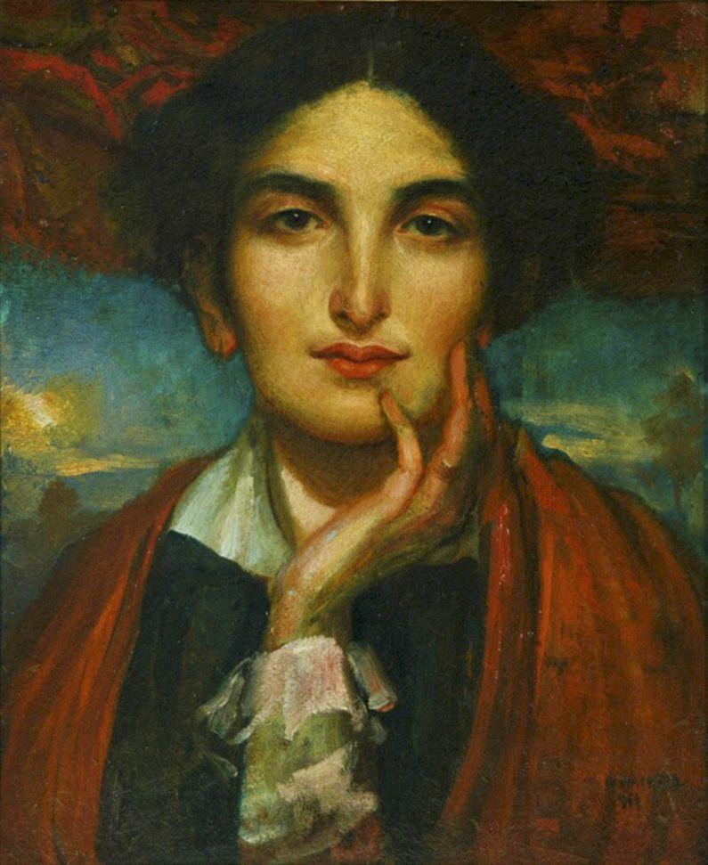 Вільгельм Вахтель. Жіночий портрет, 1916