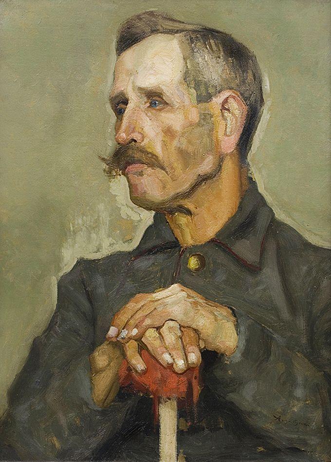 Олександр Авґустинович. Портрет чоловіка