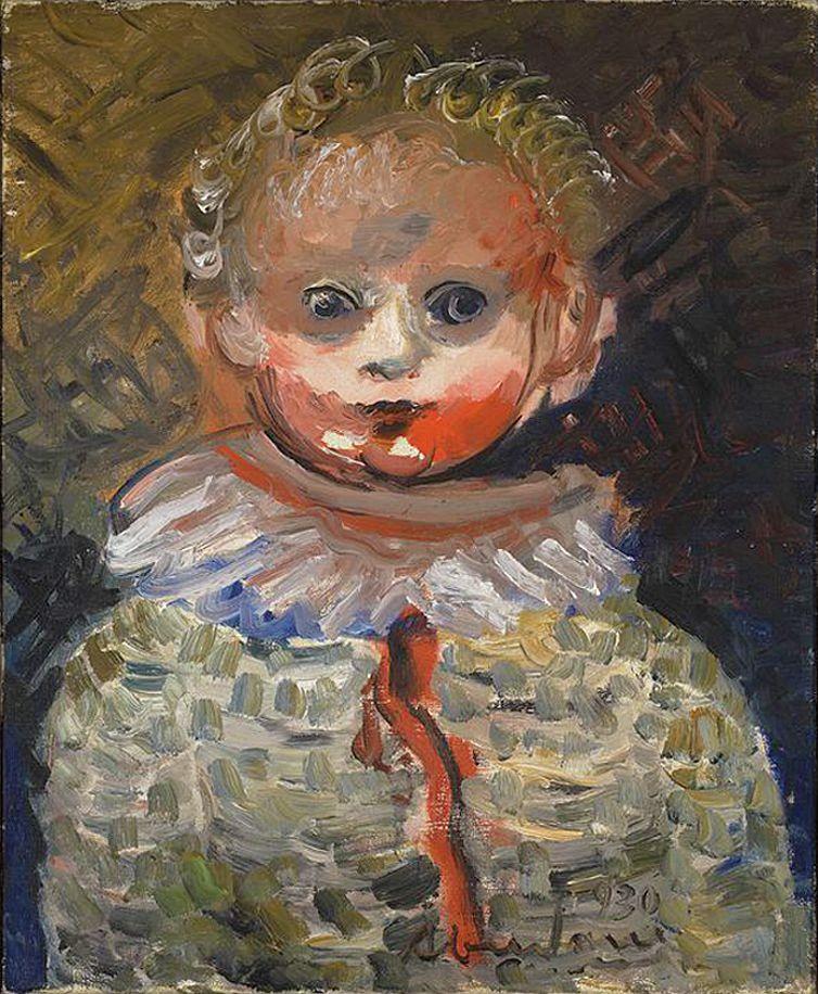 Альфред Абердам. Дитина, 1930; п, о; MNW