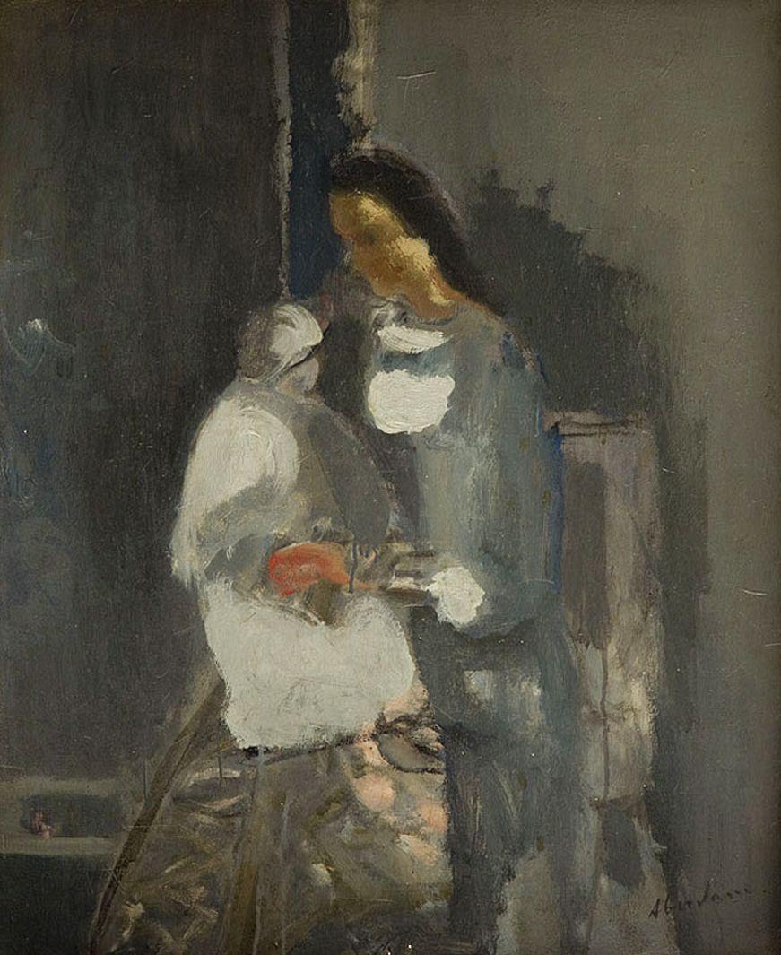 Альфред Абердам. Материнство, 1936