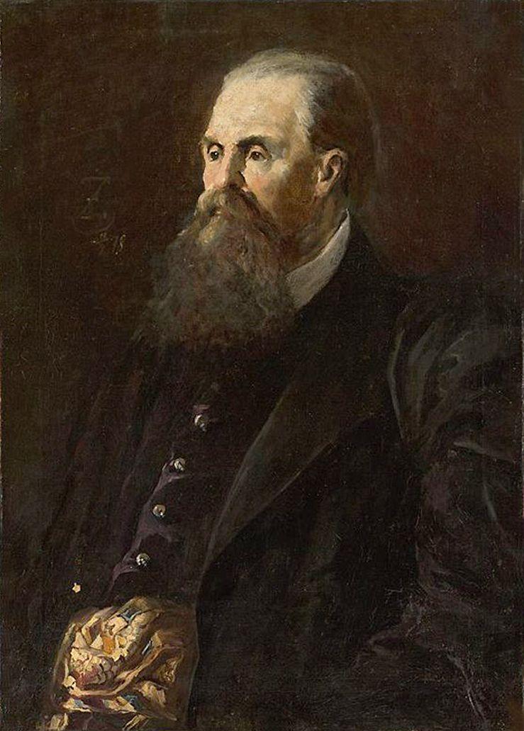 Францішек Жмурко. Портрет чоловіка, 1878; п,о; NMW