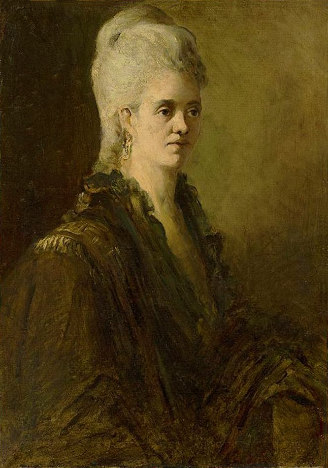 Францішек Жмурко. Потртрет жінки, 1878; п,о; NMW