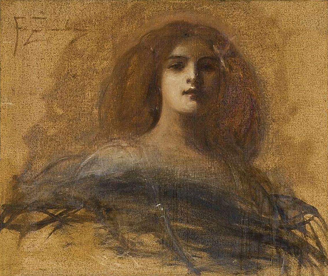 Францішек Жмурко. Рудоволоса, 1900; п,о; NMW