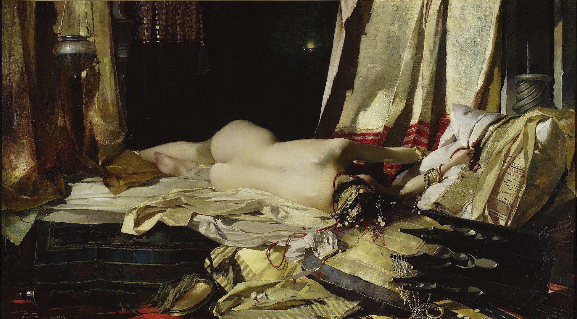 Францішек Жмурко. За наказом падішаха, 1881; п,о; NMW