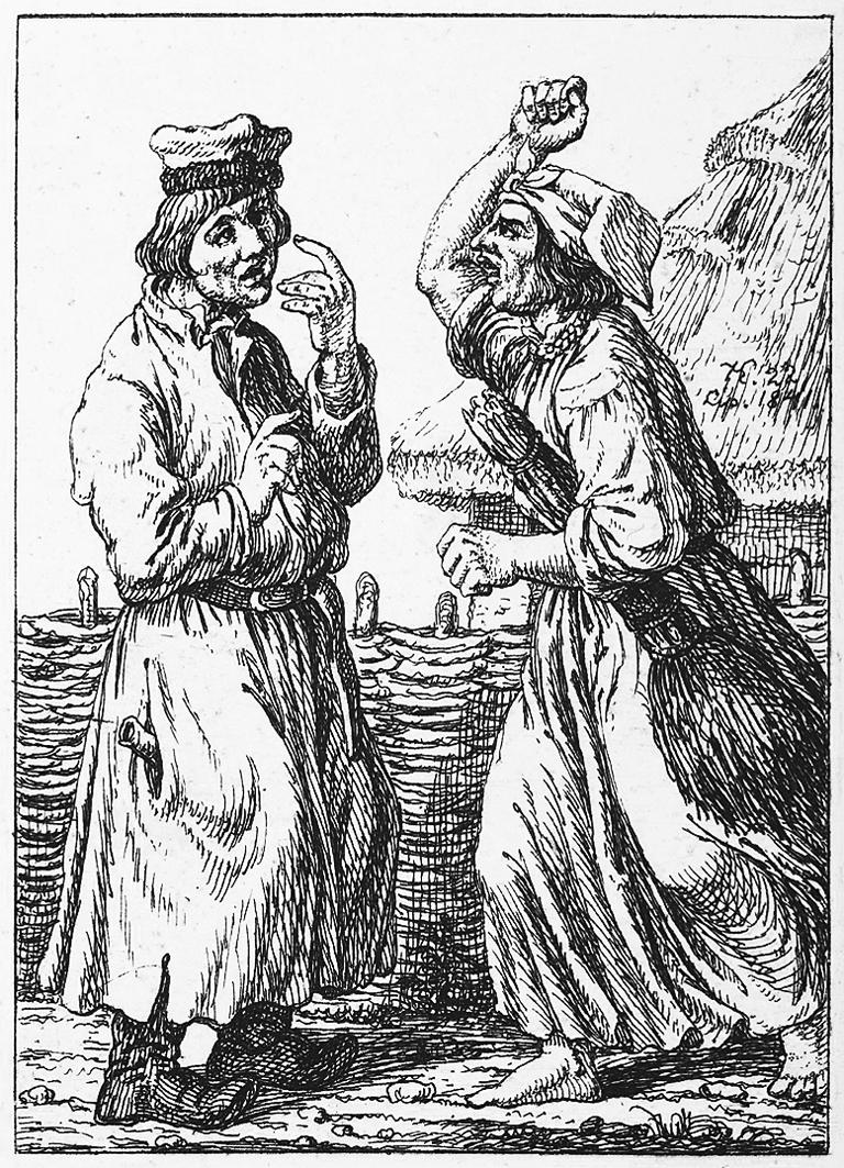 Каєтан Вінцент Кєлісінський. Родинна сварка, 1841