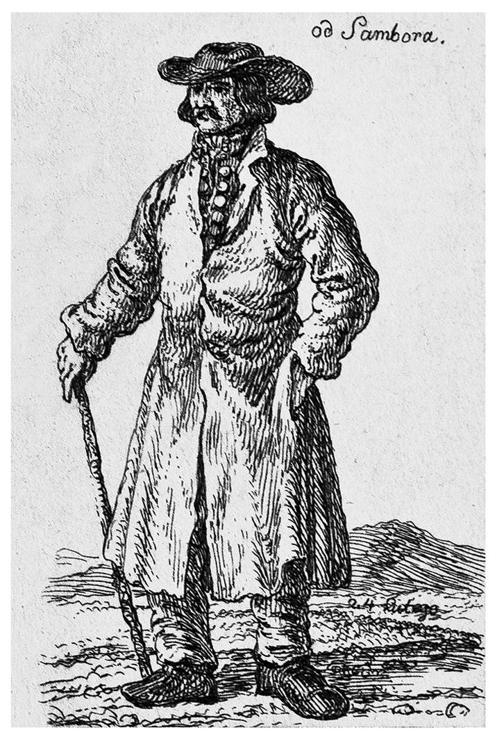 Каєтан Вінцент Кєлісінський. Самбір Міщанин, 1830-і, літографія