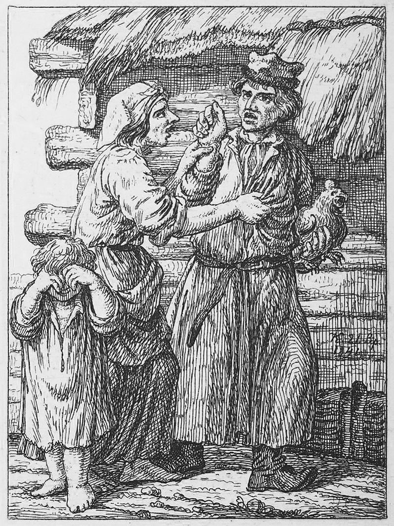 Каєтан Вінцент Кєлісінський. Сварка селян, 1841