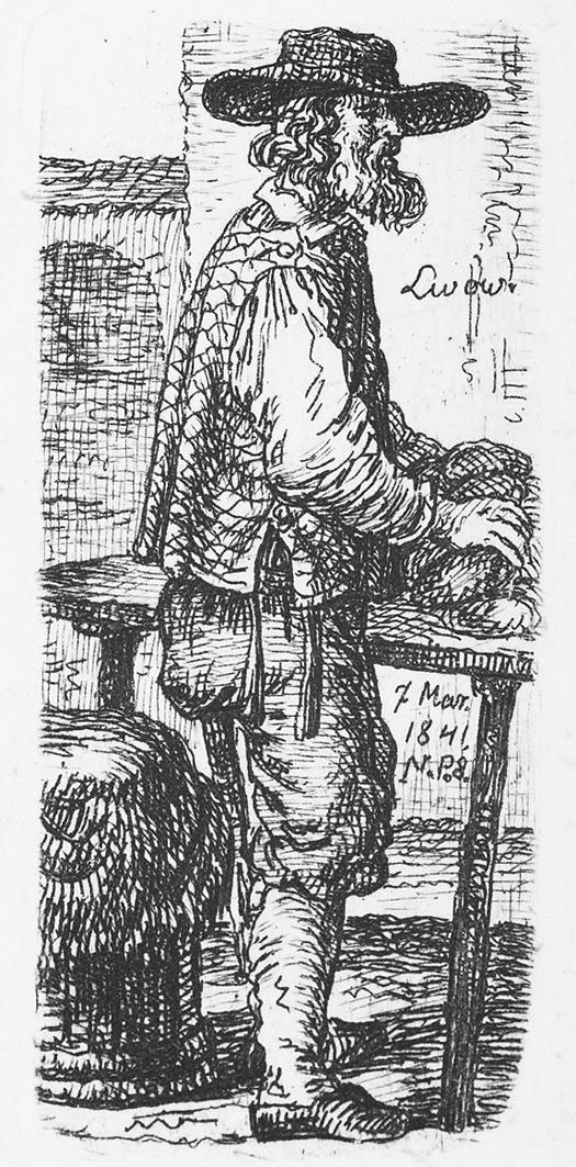 Каєтан Вінцент Кєлісінський. Львів. Торговець хлібом, 1841