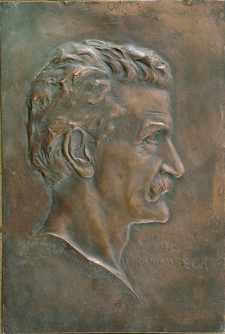 Юліуш Войцех Белтовський. Вісньовєцький Тадеуш скульптор, 1903, мідь