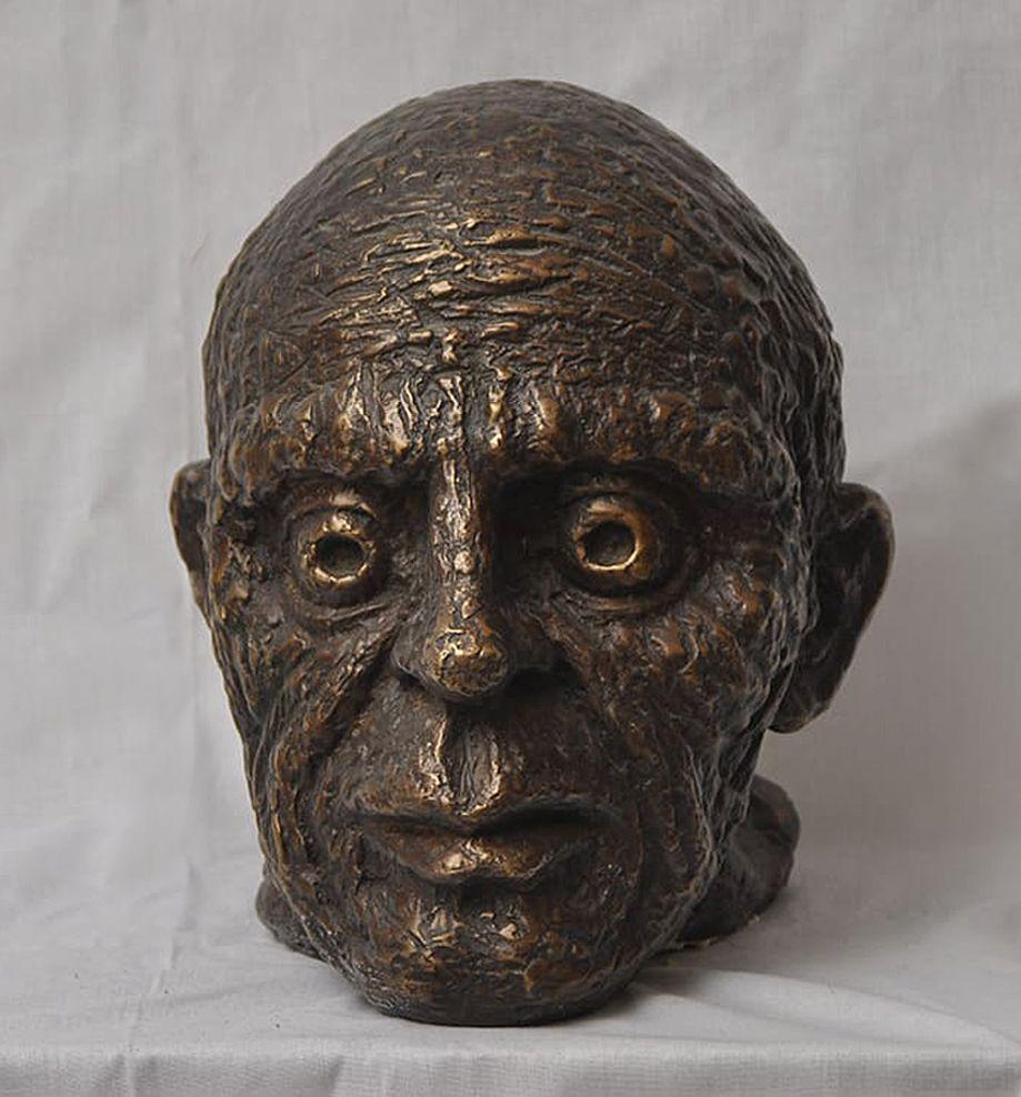 Віктор Проданчук. Пікассо, 2008; бронза