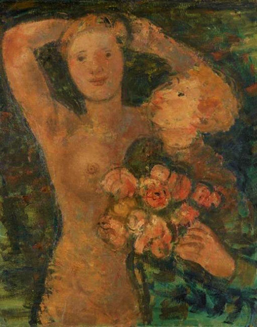 Йоахім Вайнгарт. Букет для ню, 1930
