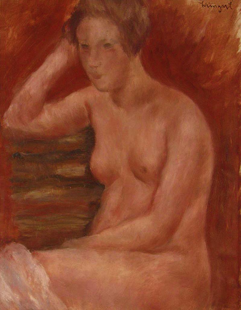 Йоахім Вайнгарт. Червоне ню, 1930-ті
