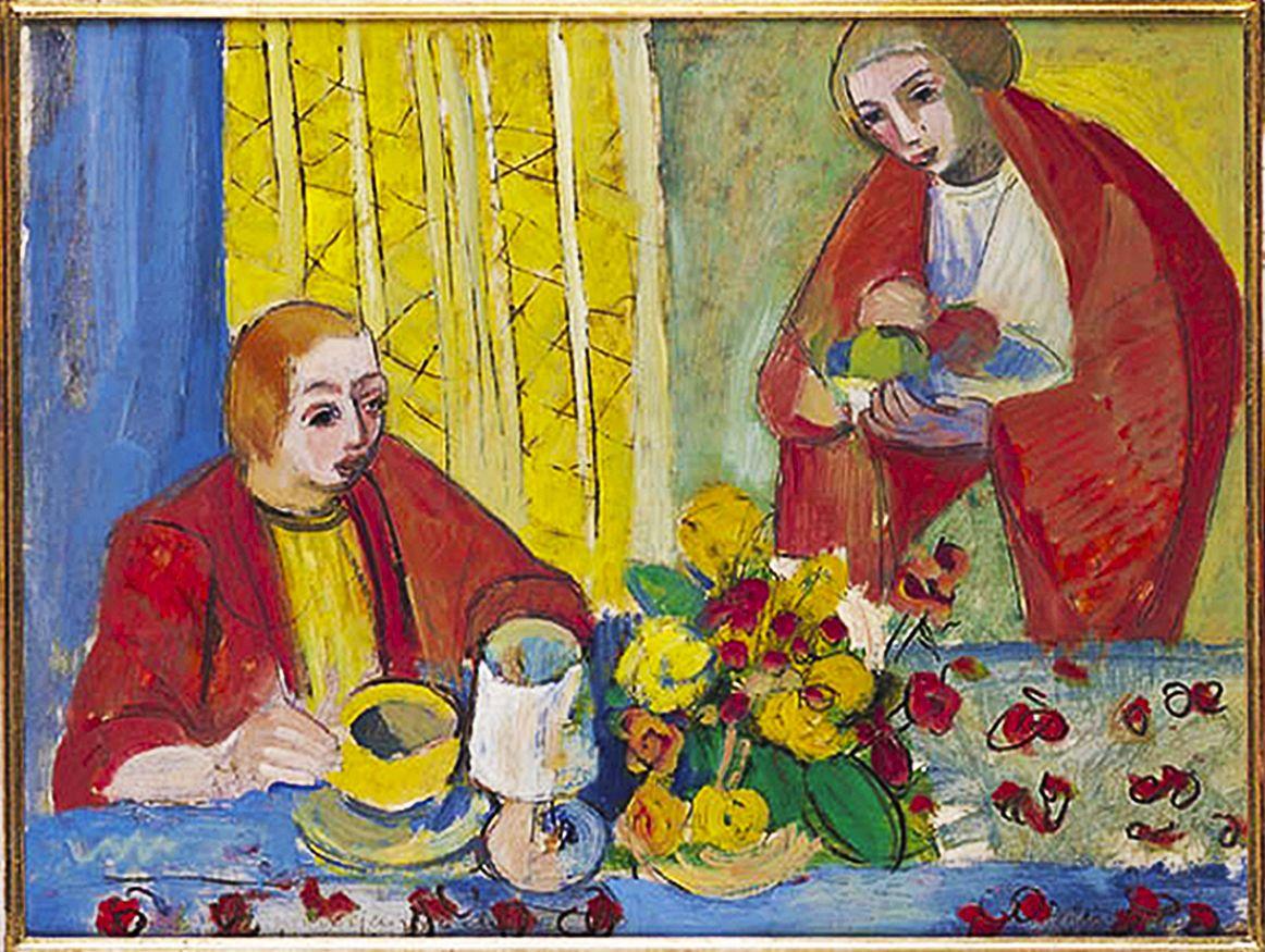 Йоахім Вайнгарт. За столом, 1920-ті