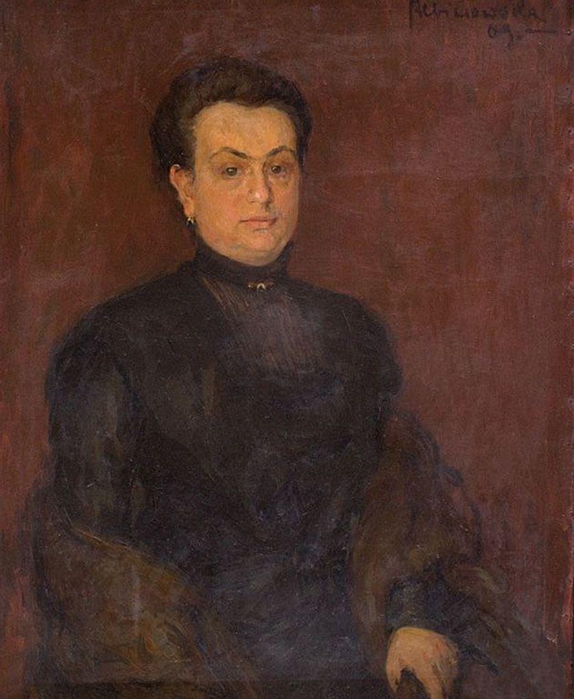 Софія Альбіновська-Мінкевич. Жіночий портрет, 1909