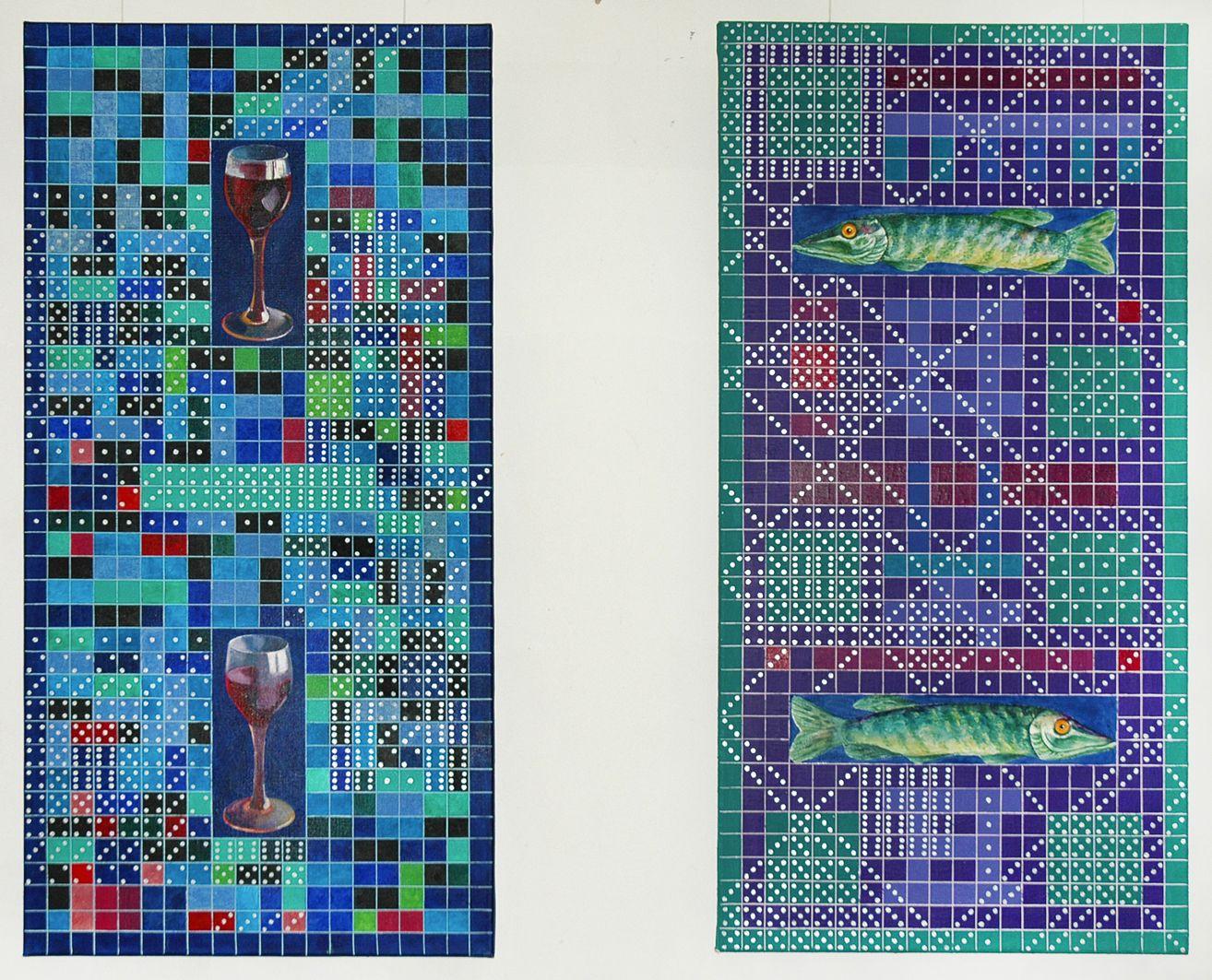 Платон Сільвестров. Домінізм #2 п,о Львів виставка 2006
