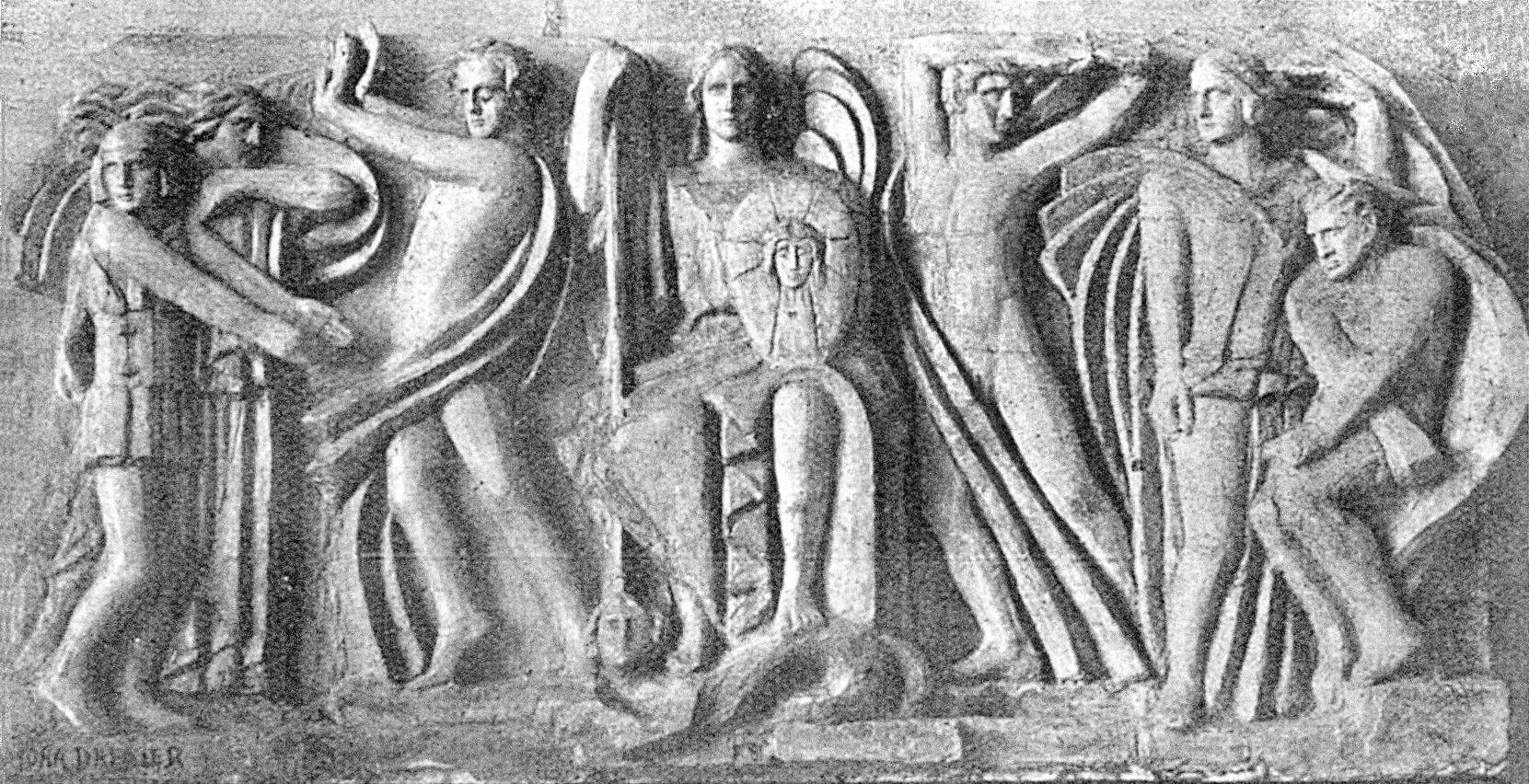 Люна Амалія Дрекслер. Архангел Михаїл, 1927