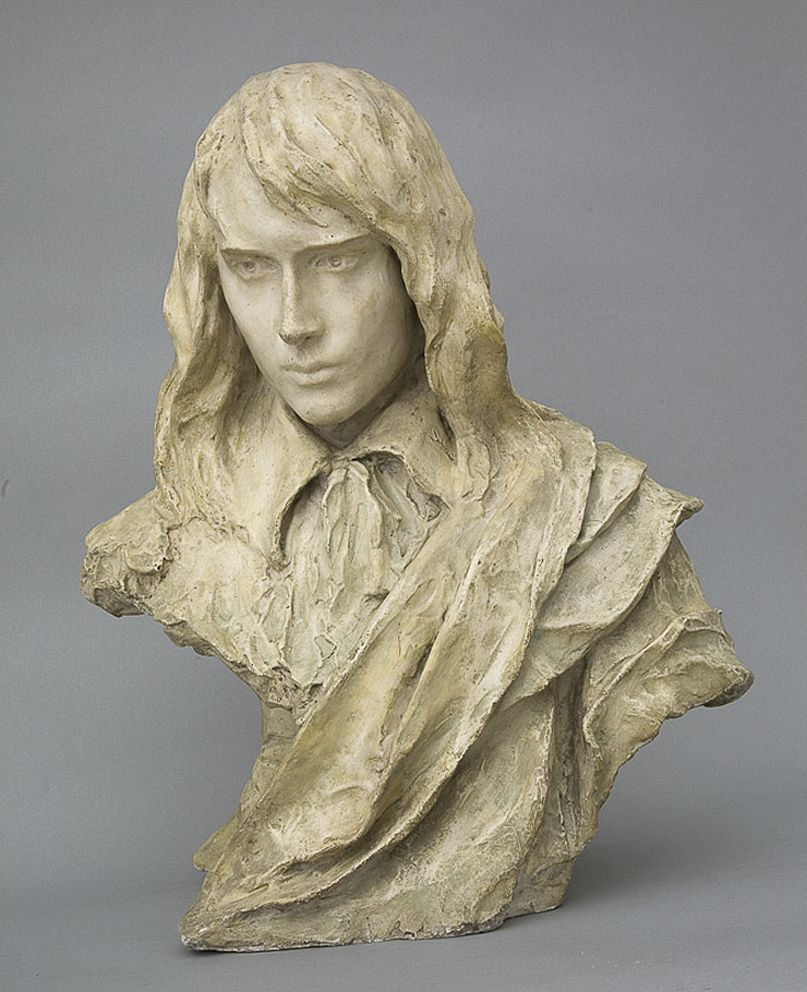 Люна Амалія Дрекслер. Блакитний хлопець, 1908; гіпс, h-59, NMK