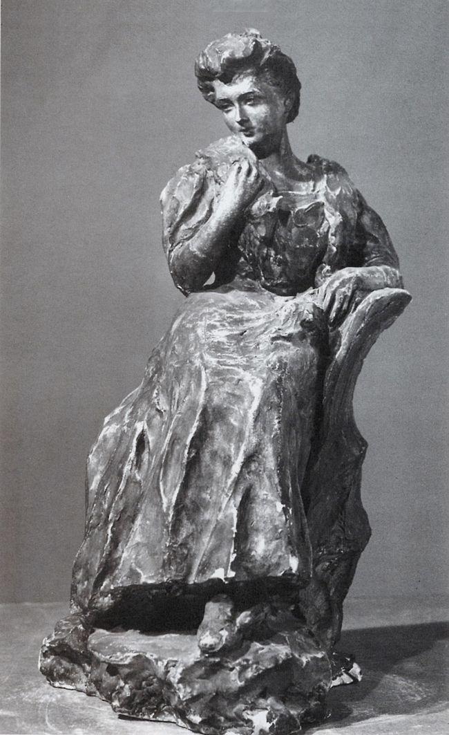 Люна Амалія Дрекслер. Дама з хутром, 1910