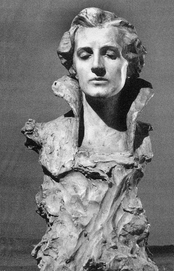 Люна Амалія Дрекслер. Задума, 1905; гіпс, ЛНГМ