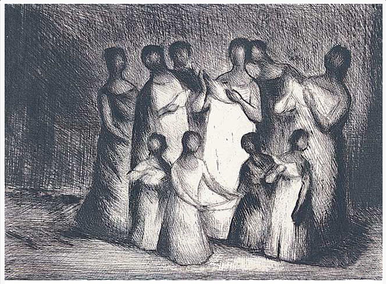 Людвиґ Ліллє. Сцена, 1957