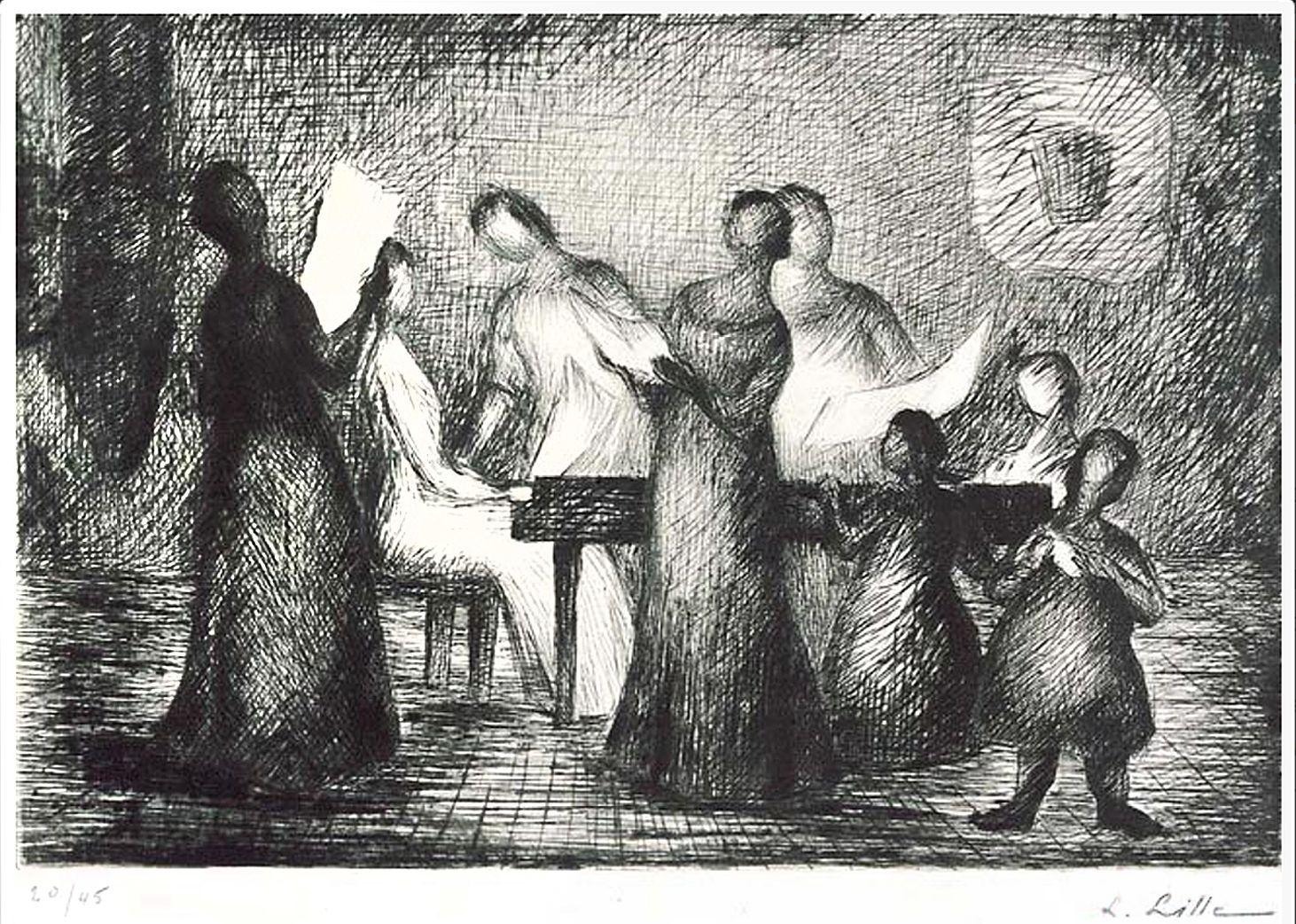 Людвиґ Ліллє. Сцена #1, 1957