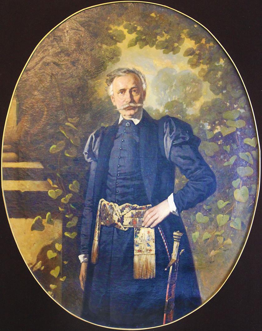 Александер Рачинський. Вінцентій Поль, 1862; олія, полотно